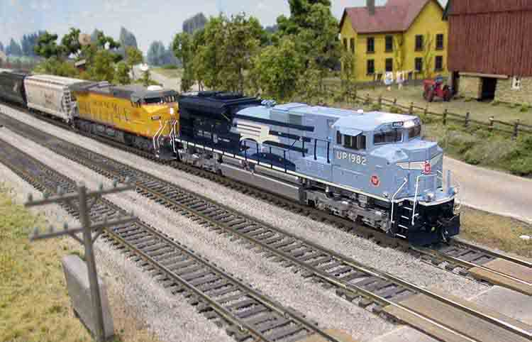 Model Trains Are Fun!
